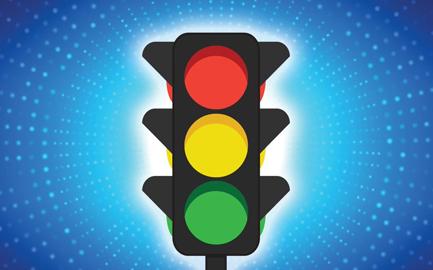 Контролируем отклонения по выполненным заданиям с помощью светофора